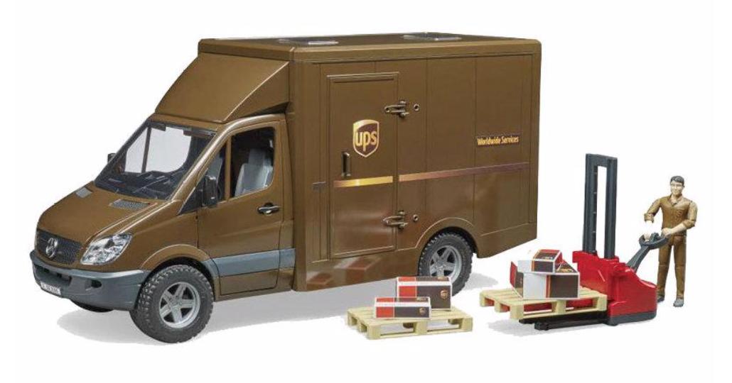 02538 BRUDER UPS TRUCK