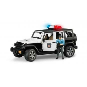 BRUDER JEEP RUBICON POLICE CAR