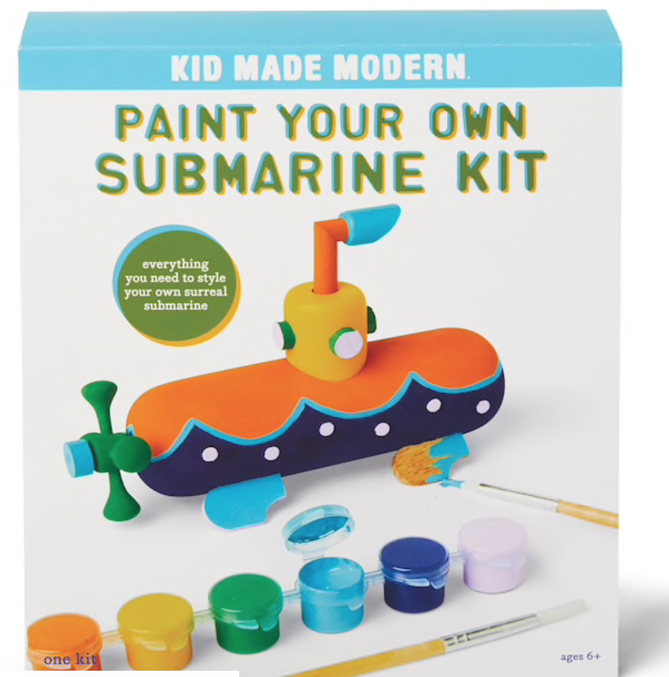 PAINT YOUR OWN SUBMARINE