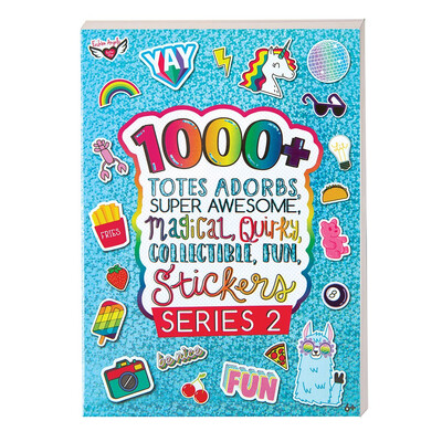 1000 STICKERS SERIES 2