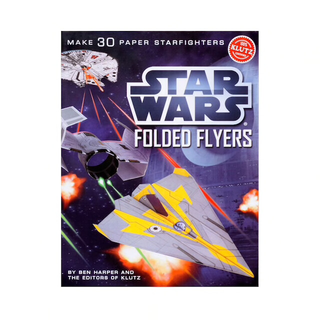 STAR WARS PAPER FLYERS
