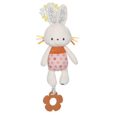 CRINKLE BUNNY TEETHER ACTIVITY TOY