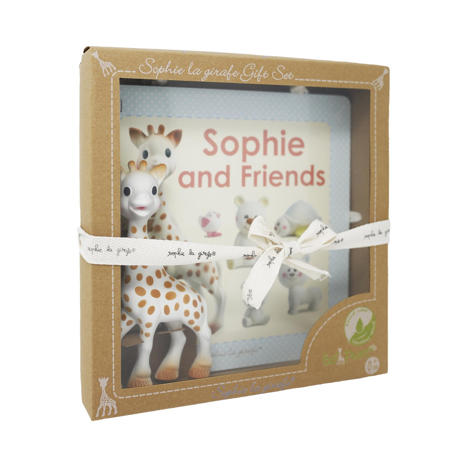 SOPHIE THE GIRAFFE GIFT SET w/TEETHER