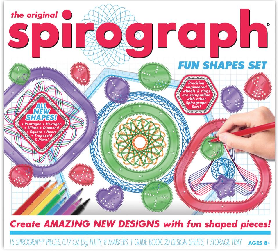 SPIROGRAPH FUN SHAPES
