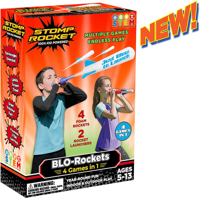 BLO-ROCKET: 4 GAMES IN 1