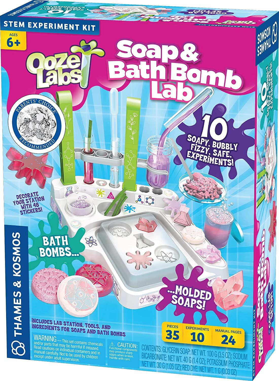 OOZE LABS SOAP & BATH BOMB LAB by Thames & Kosmos
