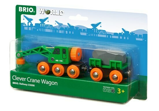 33698 CLEVER CRANE WAGON
