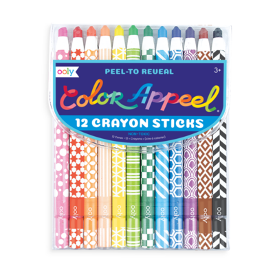 OOLY COLOR APPEEL CRAYON STICKS