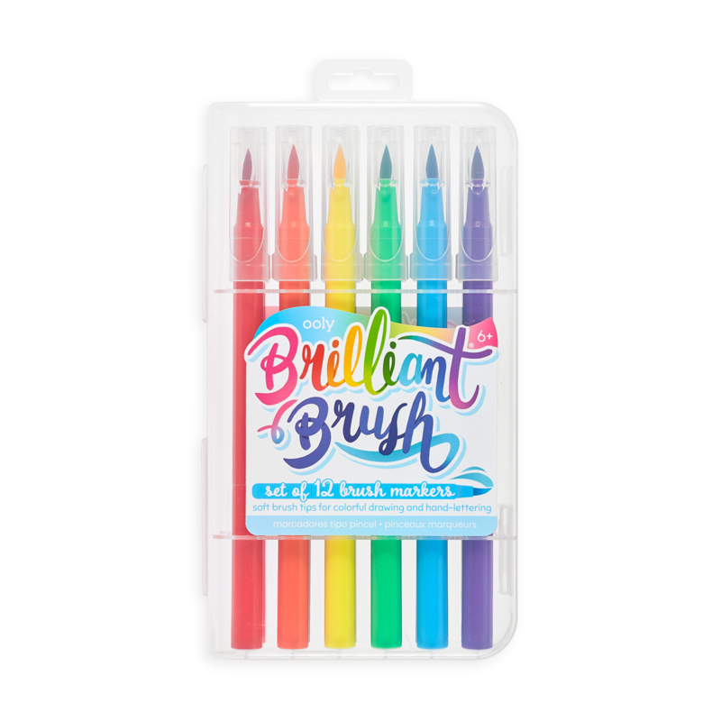 OOLY BRILLANT BRUSH MARKERS