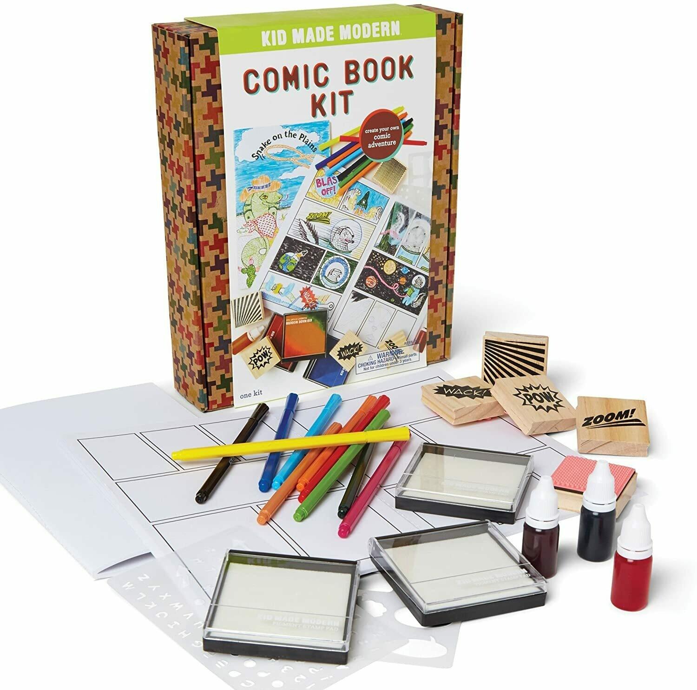KID MADE MODERN: COMIC BOOK KIT