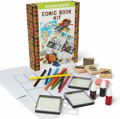 KID MADE MODERN: COMIC BOOK KIT