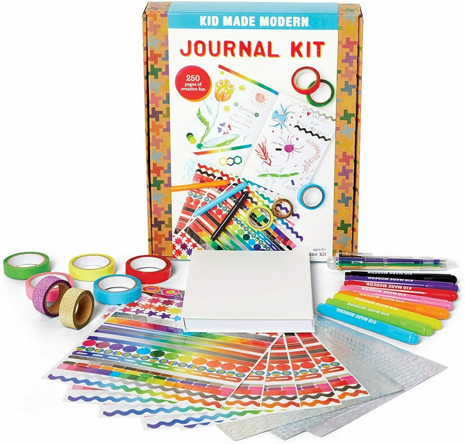 KID MADE MODERN: JOURNAL KIT
