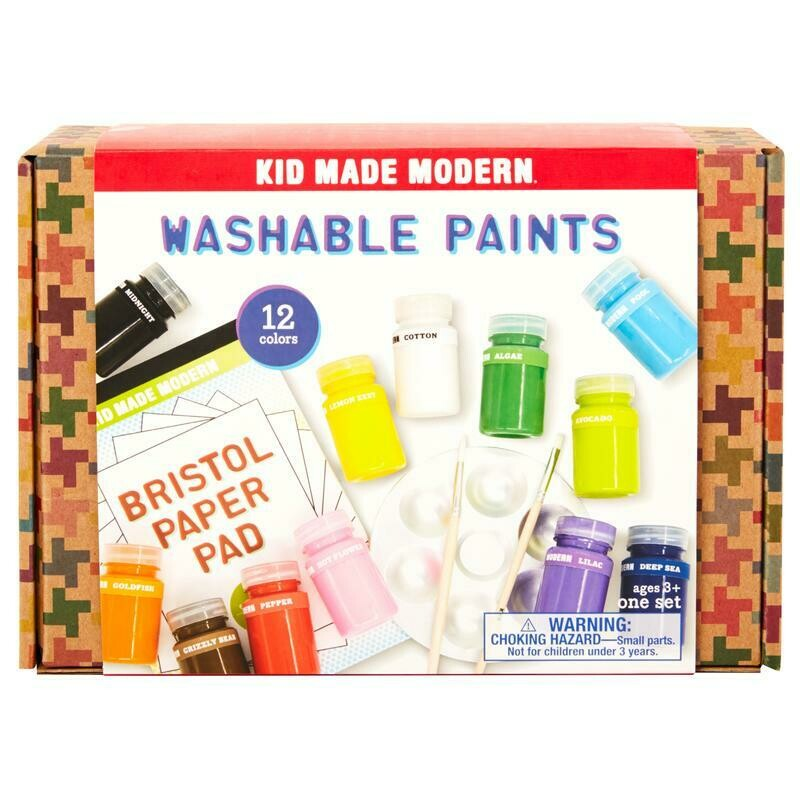 KID MADE MODERN WASHABLE PAINTS
