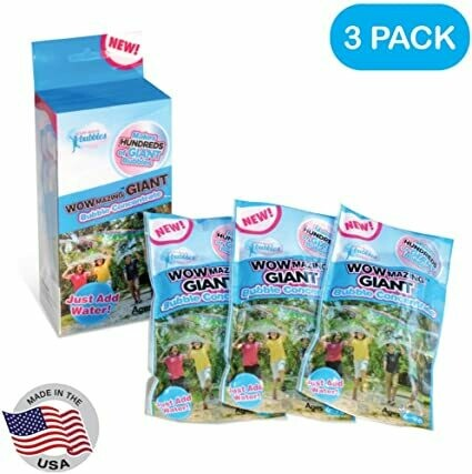 WowMazing GIANT Bubble Concentrate 3 PACK