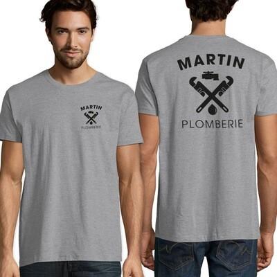 10 Tee-shirt logotés 1 couleur
