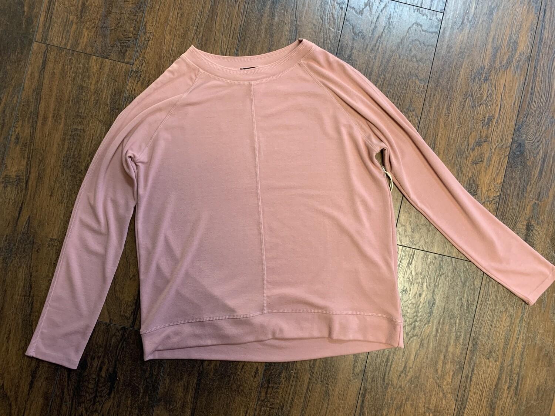 LUXE Sweatshirt Style Top