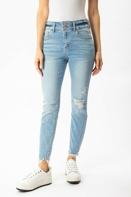 KanCan Double Button Jeans