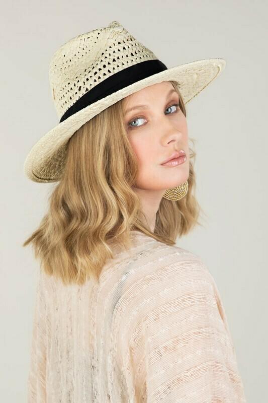 Boho Chic Summer Panama Hat