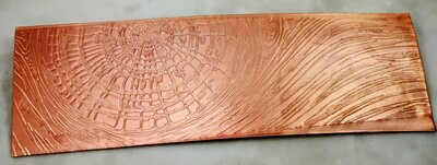 Knotty Wood Textured Copper Sheet Metal 6