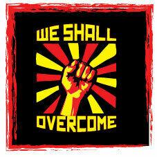 We Shall Overcome T Shirts