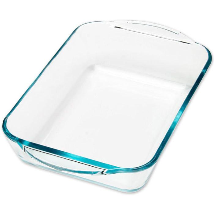 Форма стеклянная для запекания прямоугольная, 2 л - 1822