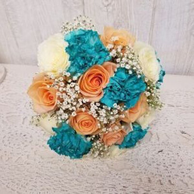 Rose And Carnation Bouquet