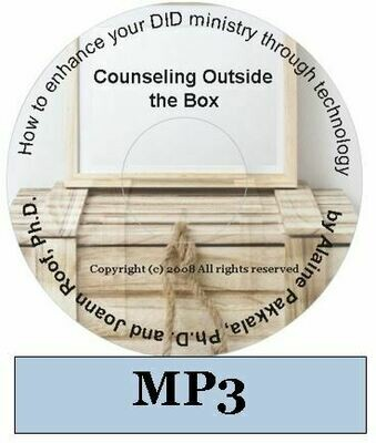 Counseling Outside the Box MP3 - by Alaine Pakkala