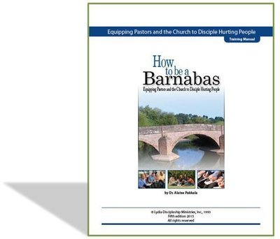 How To Be A Barnabas, A Training Manual (5th edition) - by Alaine Pakkala, Ph.D.