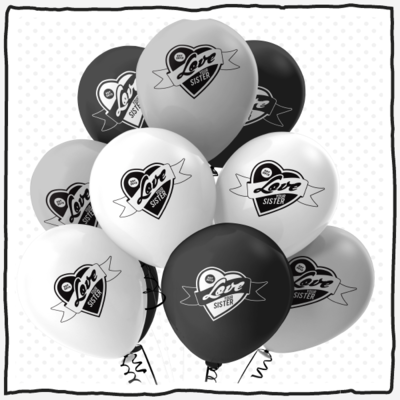 Fun Fundy Balloons - pack of 45!