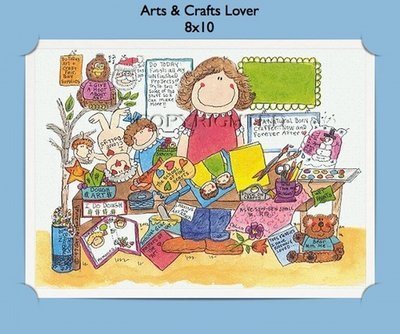 Arts & Crafts - Personalized Cartoon Gift
