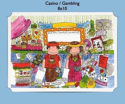Casino Gambling  - Personalized Cartoon Gift