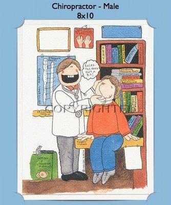 Chiropractor - Personalized Cartoon Gift