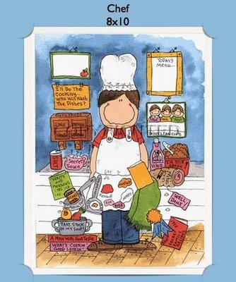 Chef - Personalized Cartoon Gift