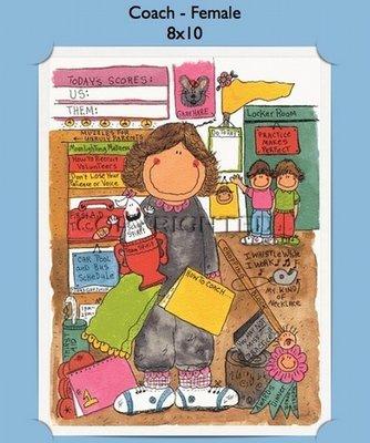 Coach - Personalized Cartoon Gift (Female)