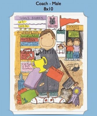 Coach - Personalized Cartoon Gift (Male)