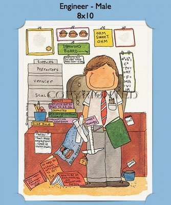 Engineer - Personalized Cartoon Gift