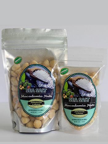 Sea Salt Macadamia Nuts