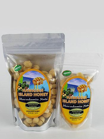Hawaiian Island Honey Macadamia Nuts