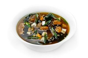 Мисо-суп с мидиями
