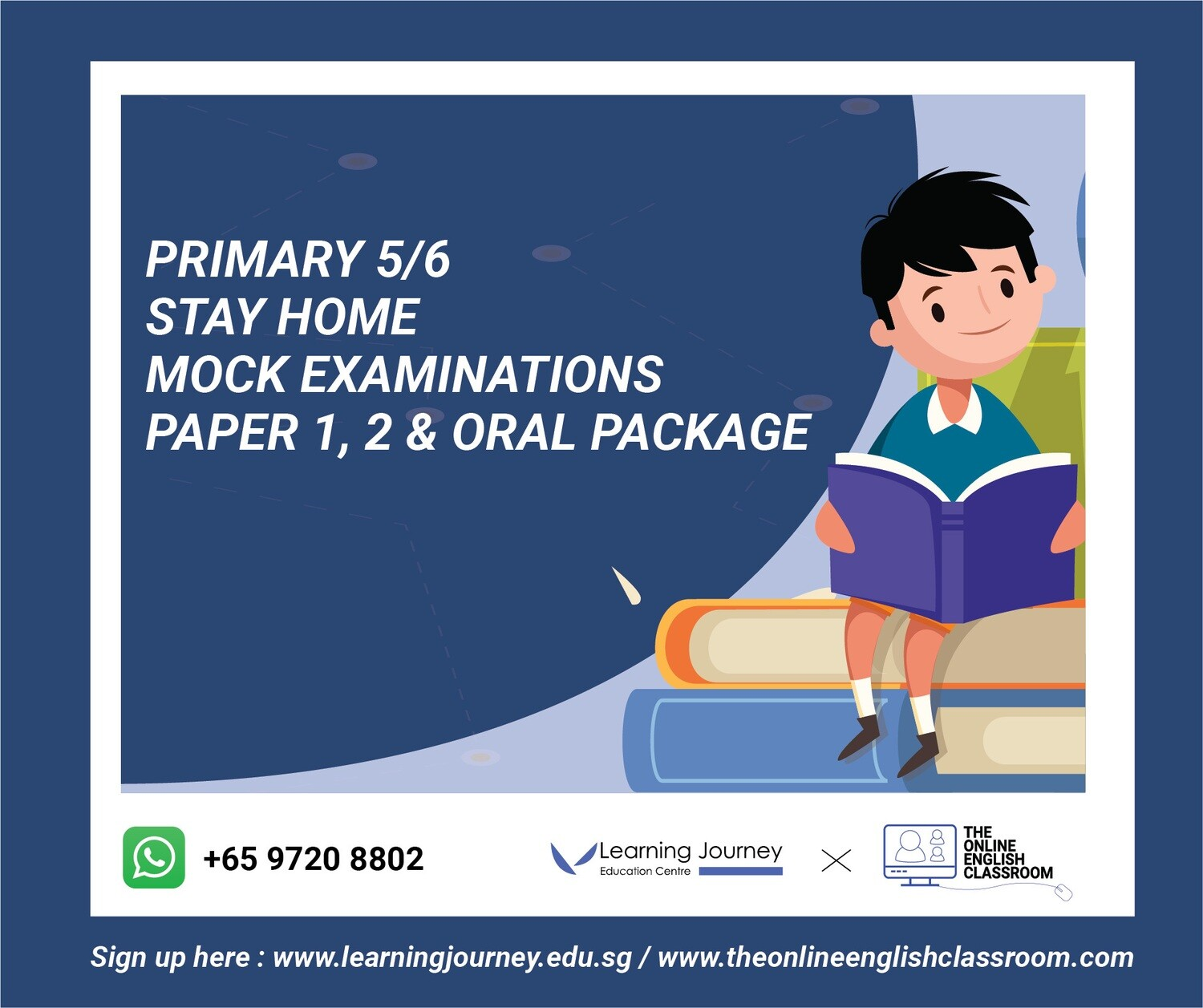 Primary 5 & 6 Mock Examinations Package [Paper 1, 2 and Oral]