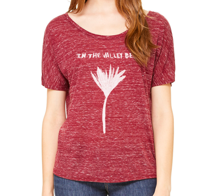NEW - Women's Maroon Flower