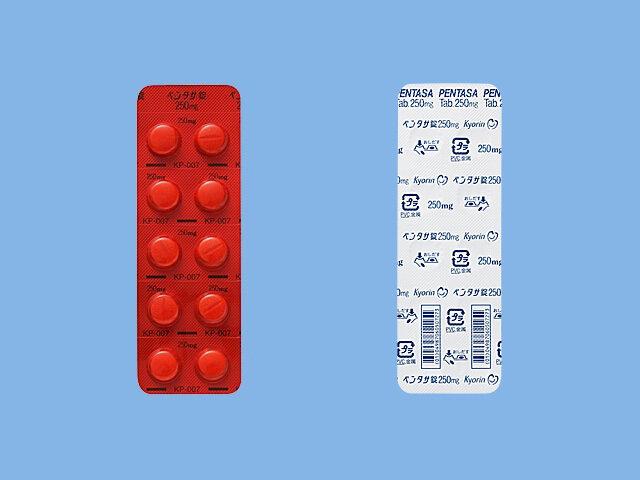 PENTASA Tablets 250mg 100tab.