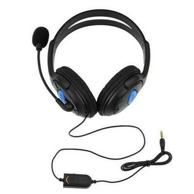 sony ps4 stereo wired gaming headset with mic