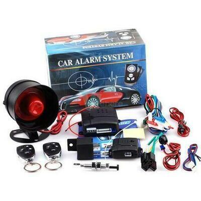 New Universal 1-Way Car Alarm Vehicle System
