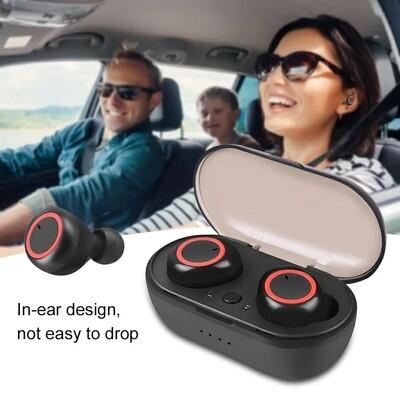wireless tws bluetooth 5-0 earphone stereo earbud