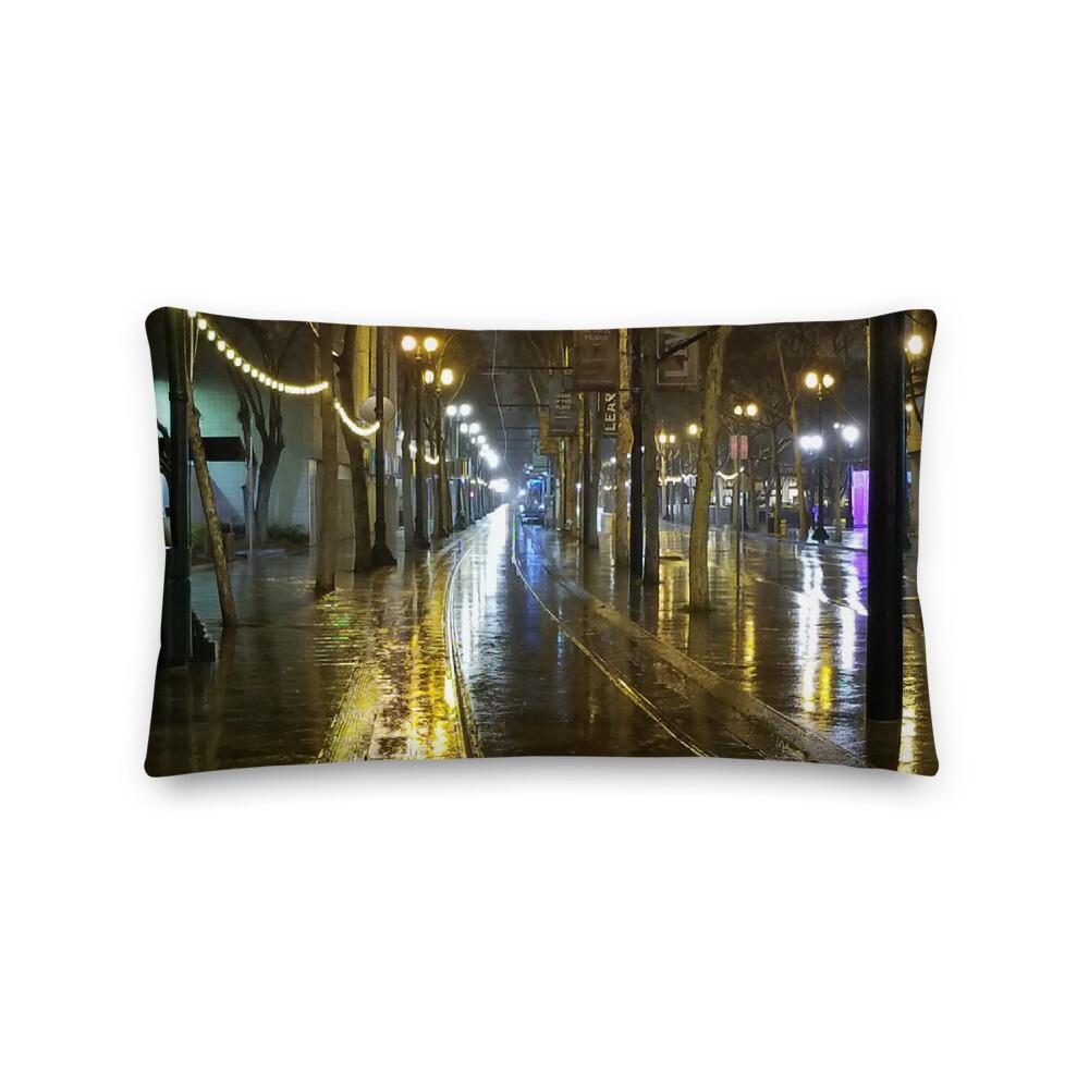Premium Pillow SJ Rain Reflections Lite Rail