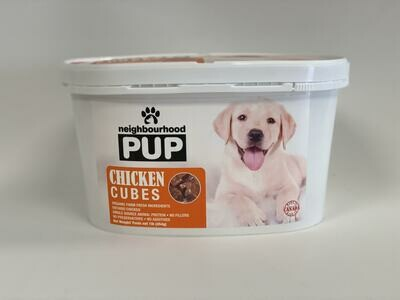 Chicken Cubes Tub- Raw