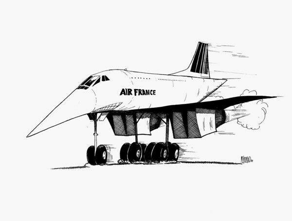 Michael Hopkins Aviation Caricatures