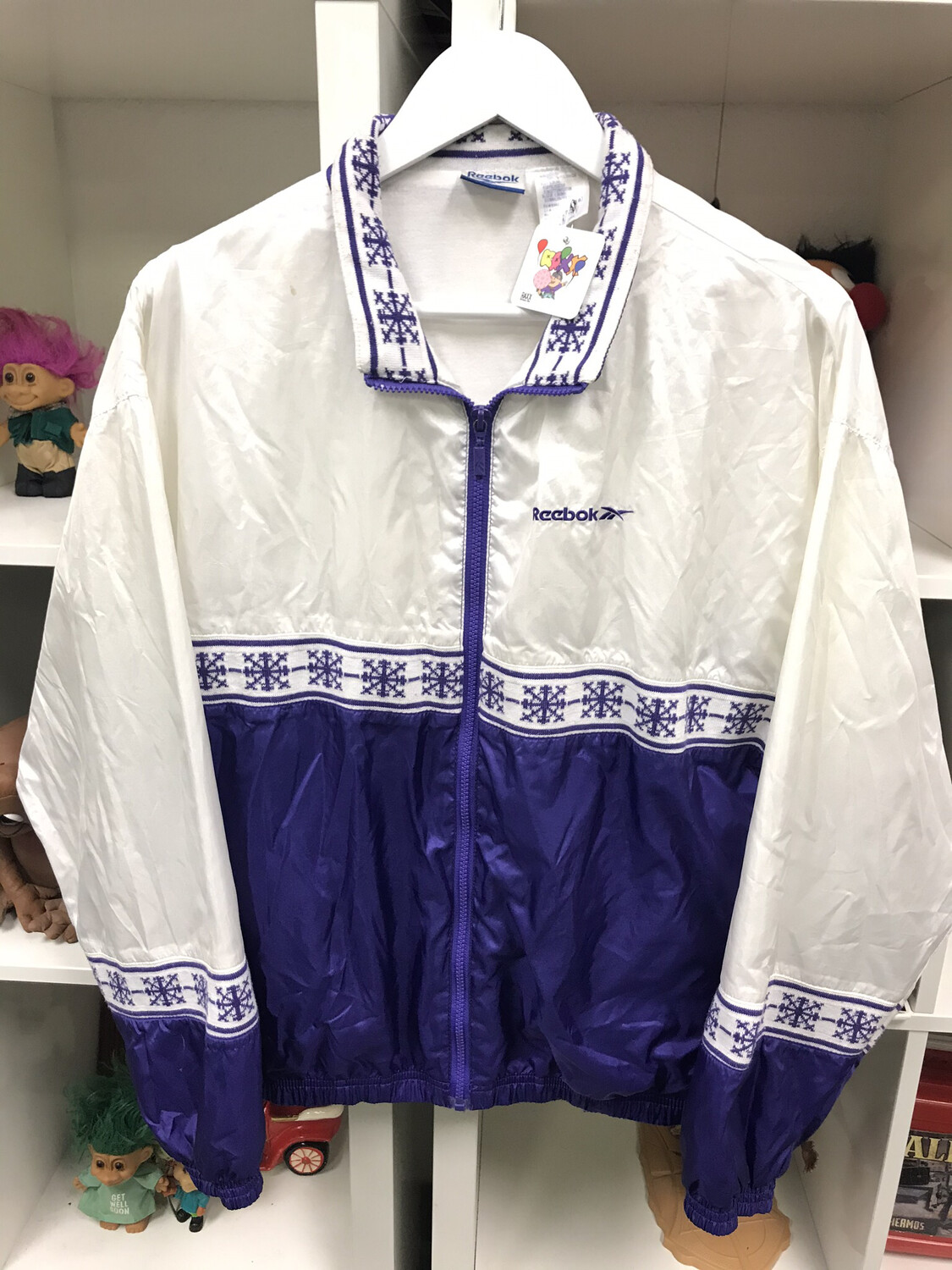 Reebok Windbreaker Sz Small