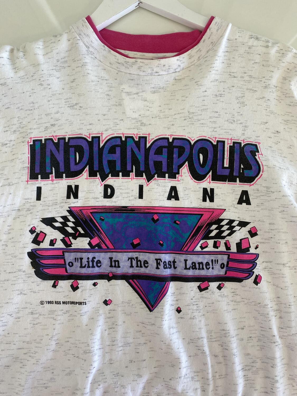 Indianapolis 1993 Motorsports Tee. SIZE: XL